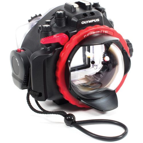 AOI DLP-01 Glass Dome Port for Olympus OM-D Mount Housing