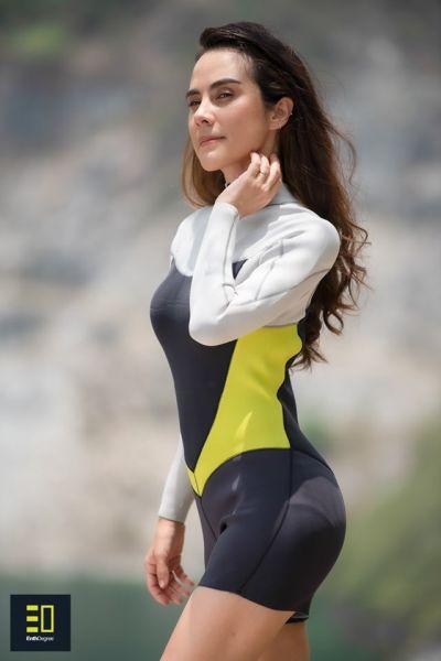 ชุดดำน้ำหญิง Enth Degree ALTUM LSS 3/2 Wetsuit For Female