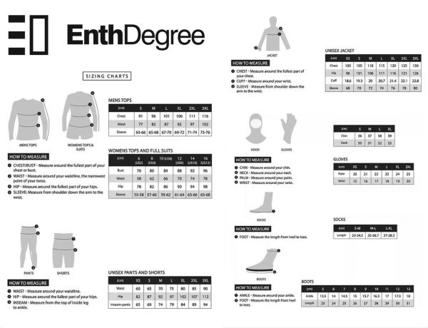 ชุดดำน้ำหญิง Enth Degree Barrier Suit for Female