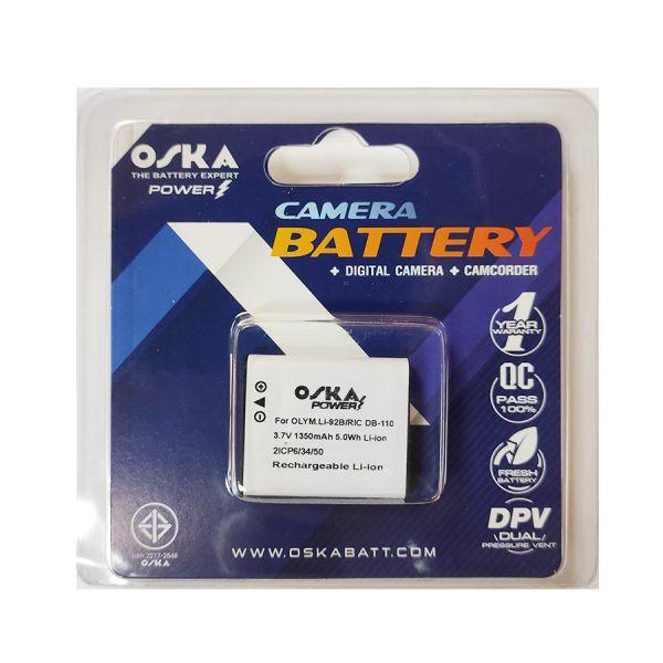 OSKA battery OLYMPUS Li-92b