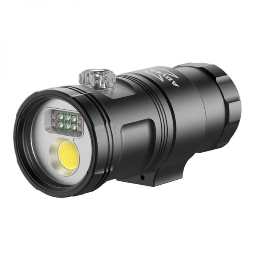 X-adventurer M3000-WRUA II Smart Focus Video Light with Strobe Mode
