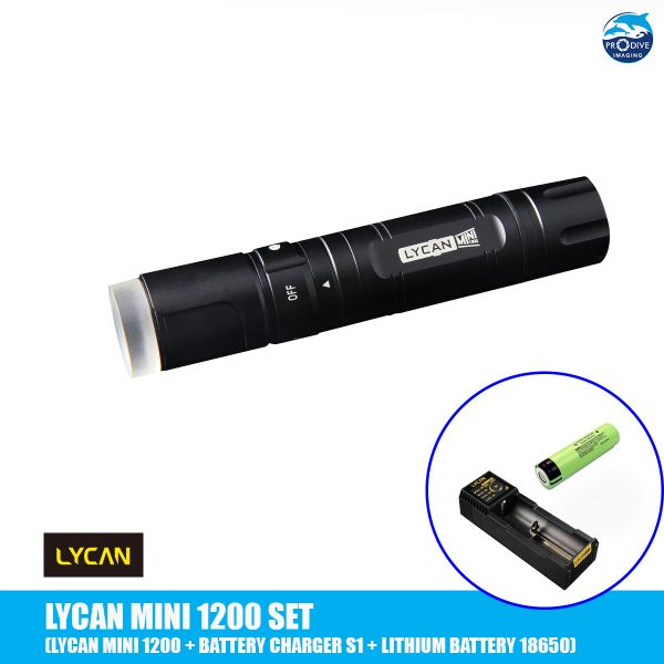 LYCAN MINI 1200 + Battery & Charger S1