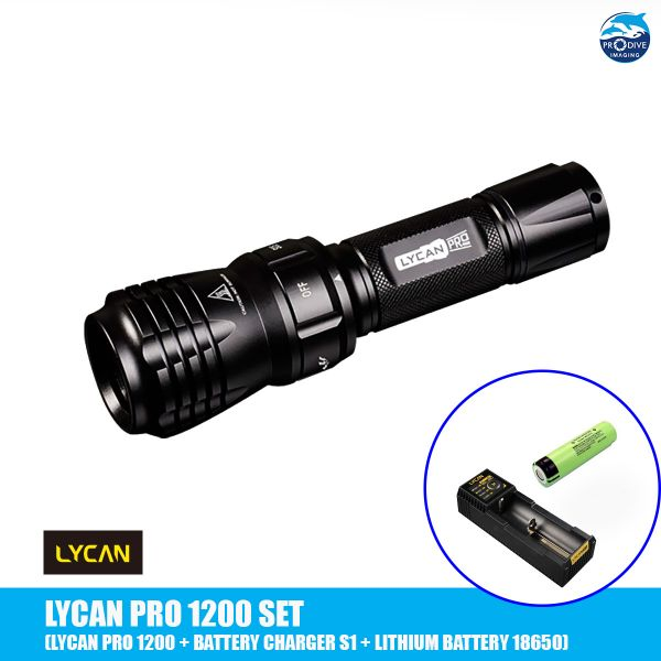 LYCAN PRO 1200 + Battery & Charger S1