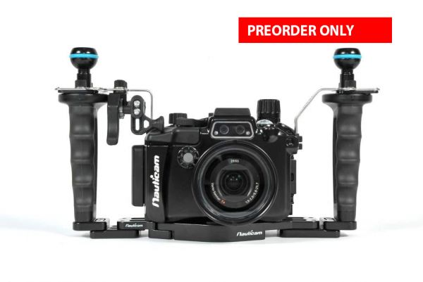 NA-RX100V Pro Package (Inc. flexitray, right handle, two mounting balls, M14 vacuum valve, shutter extension)