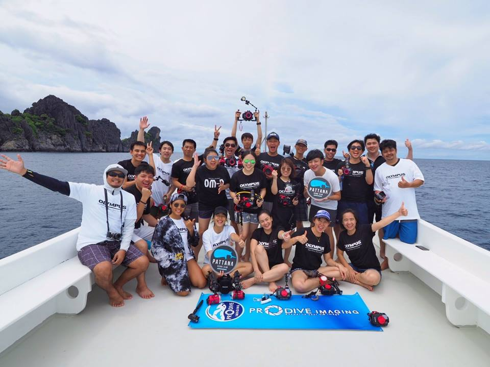 Olympus & Pattana underwater photography workshop 2017