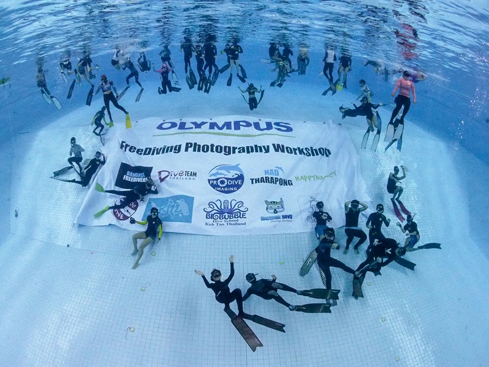 OLYMPUS Freediving Photography Workshop 20.10.18