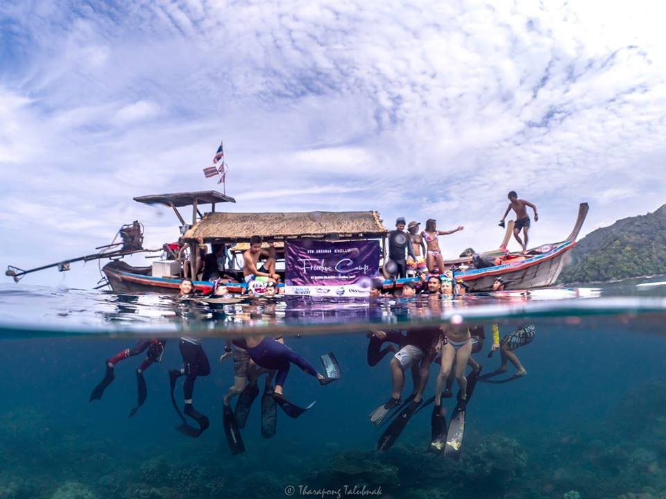 Olympus & WOW Andaman Freedive Camp