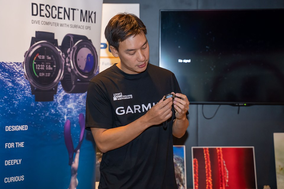 """Garmin Descent MKI"" อบรมการใช้ dive com"